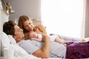 Czy spać razem z dzieckiem?