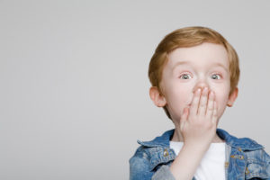 Przeklinające dziecko
