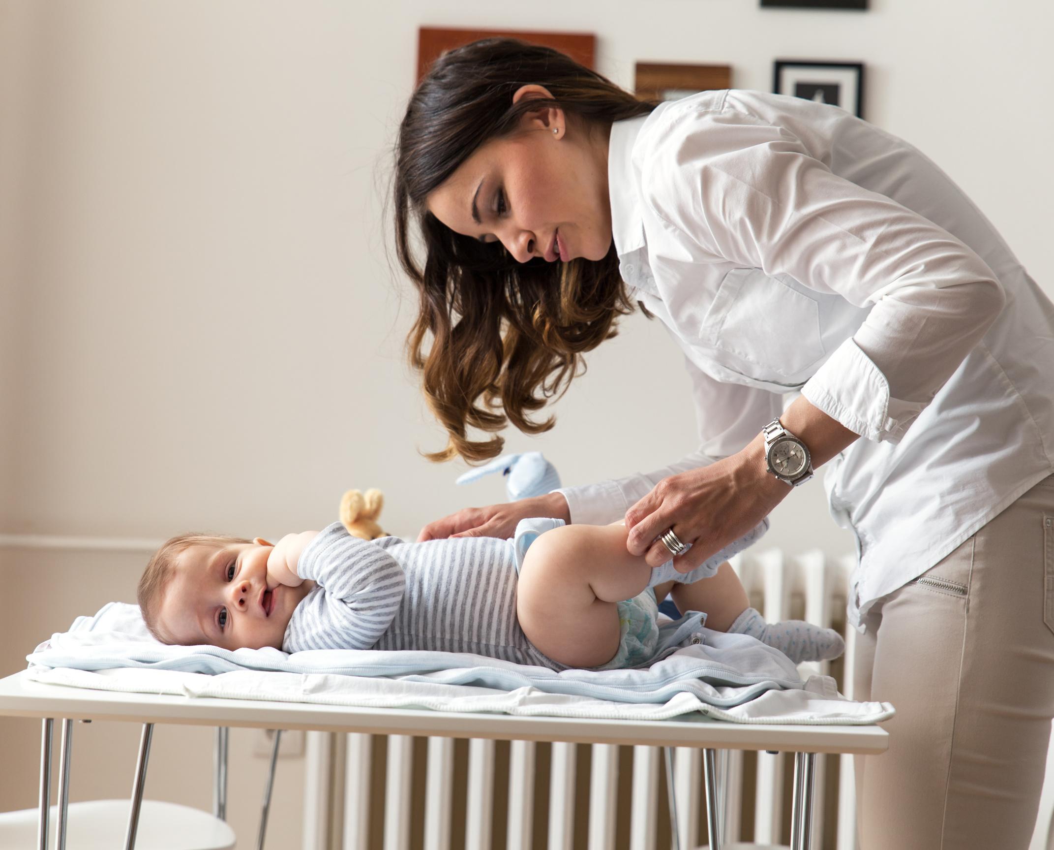 Śluz w kupie niemowlaka
