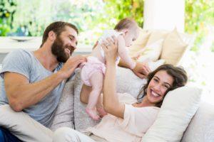 Kiedy seks po porodzie - młodzi rodzice