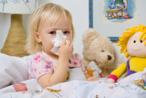 Czy katar to choroba - przezięnione dziecko