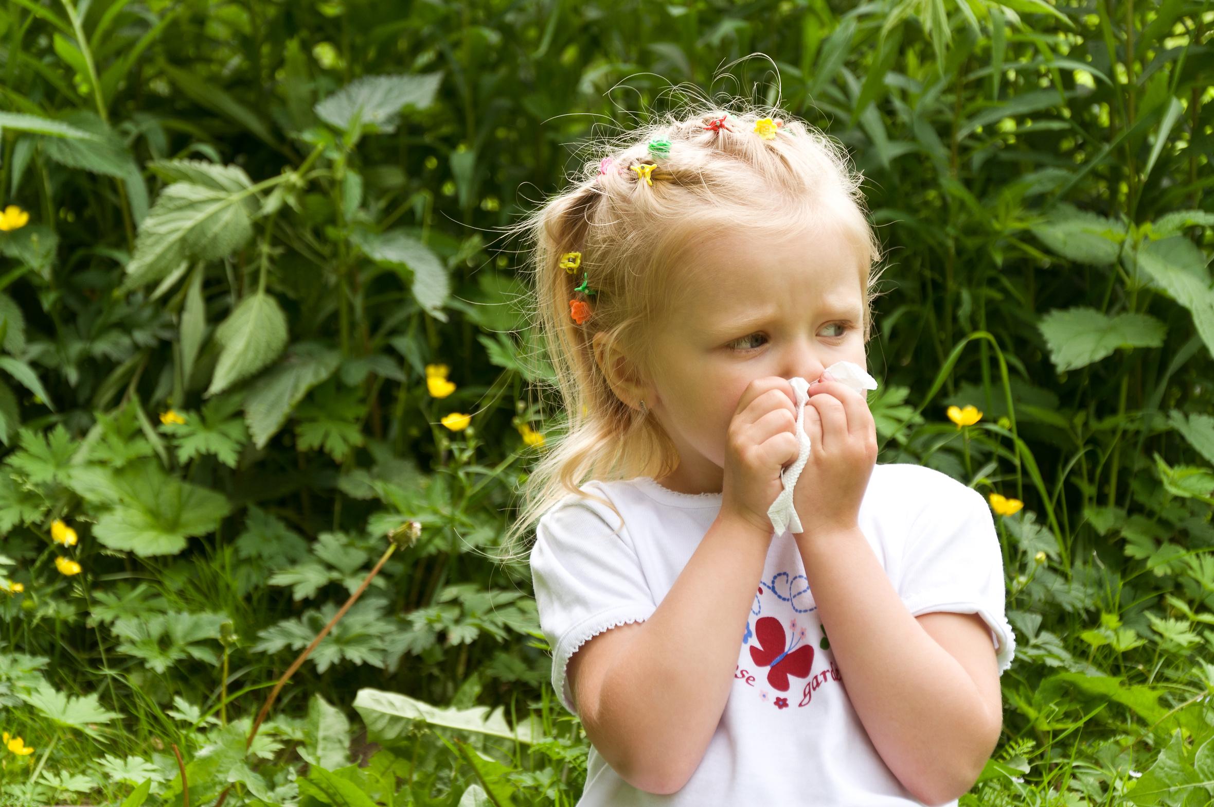 Rodzaje alergii u dziecka