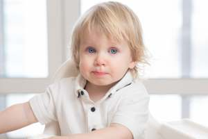 Katar u noworodka - przeziębione dziecko