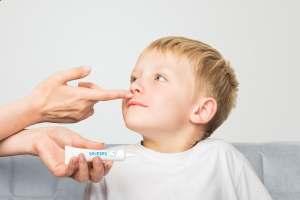 Maść do nosa dla dziecka