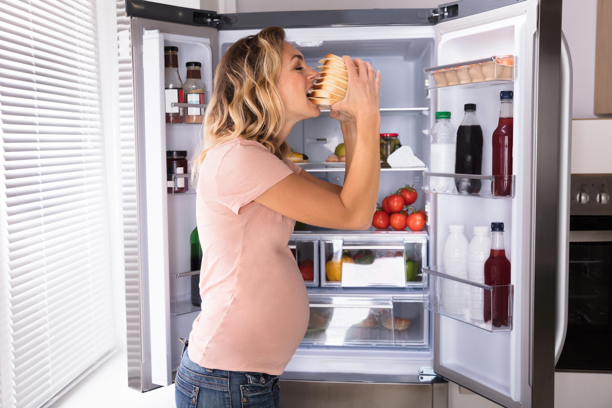 Zachcianki w ciąży