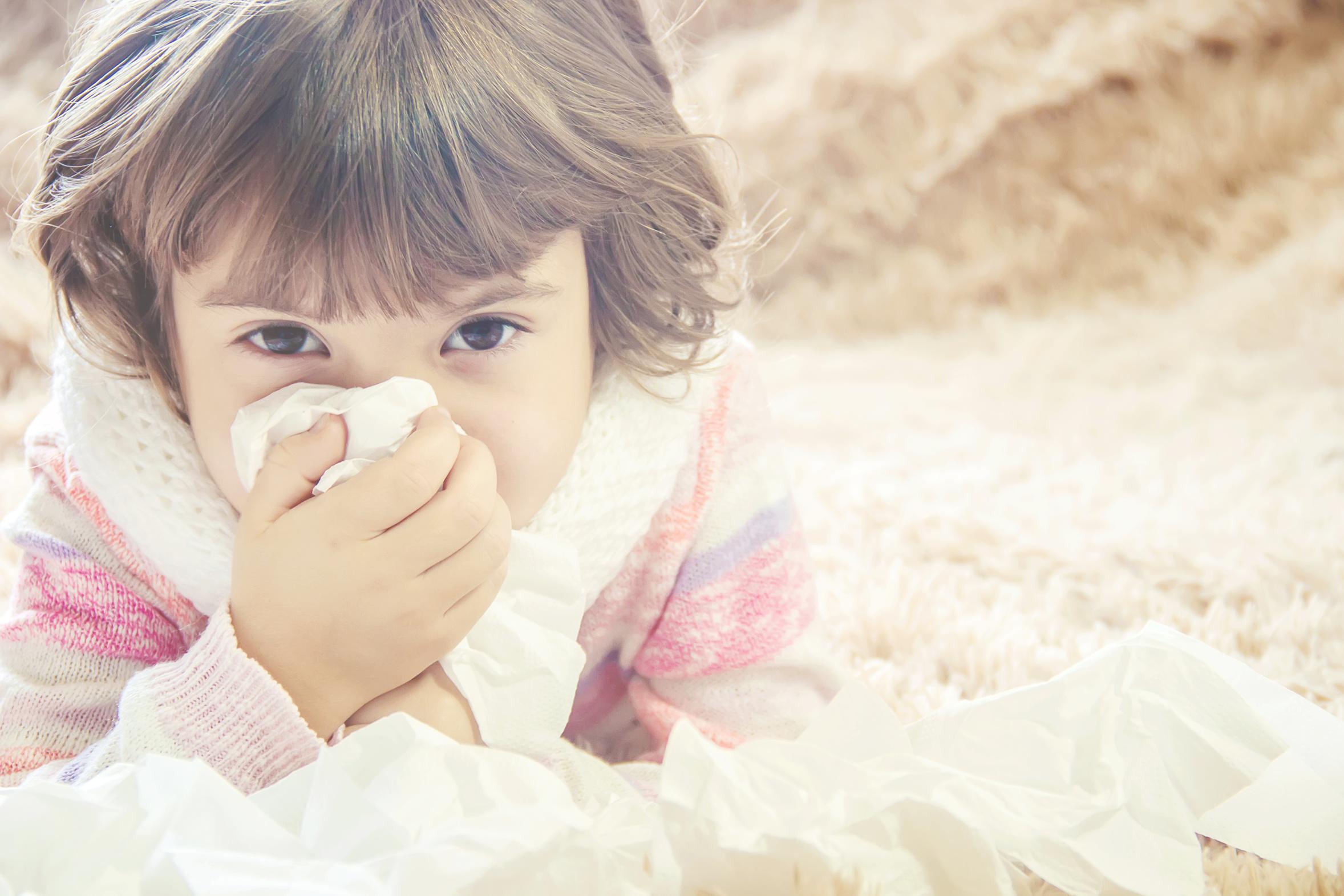 Kolor kataru u dziecka