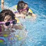 Katar u dziecka a basen