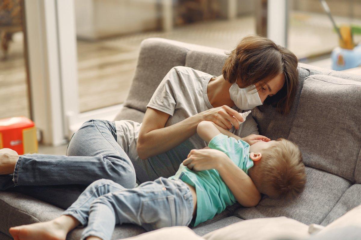 Rozrzedzanie gęstego kataru u dziecka