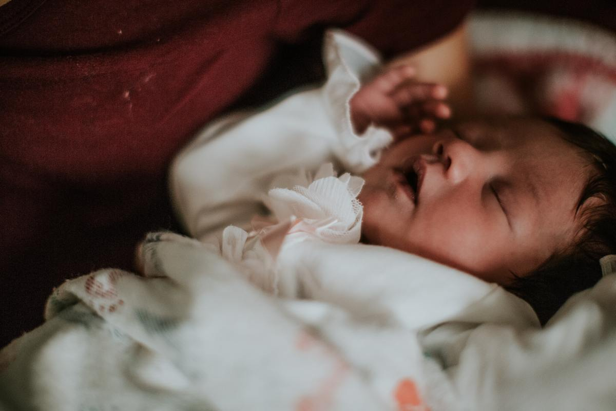 Dziecko chrapie w śnie