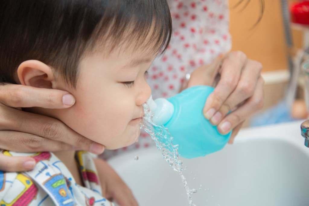 Irygacja zatok u dzieci czyli płukanie