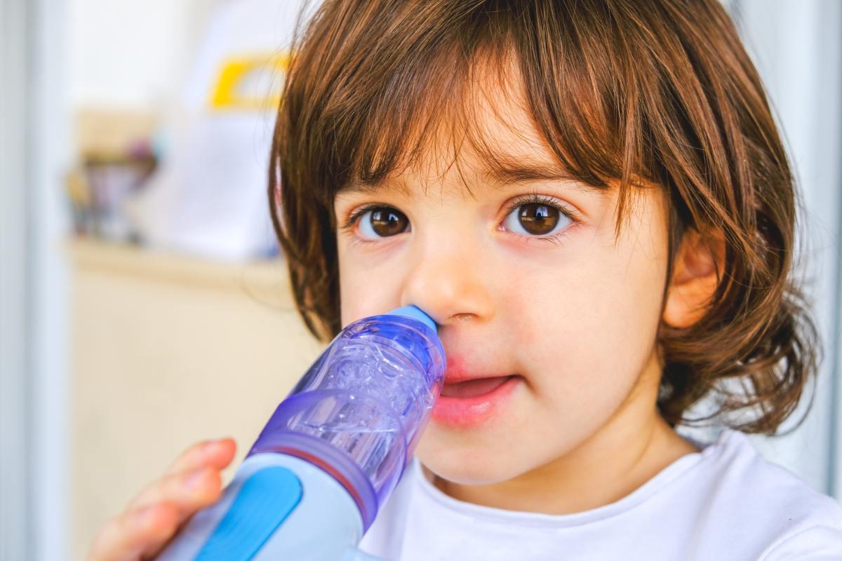 Płukanie zatok u dzieci