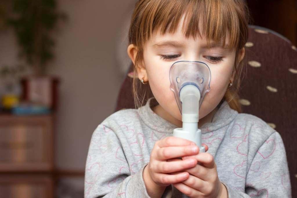 Inhalacja u dzieci z soli fizjologicznej
