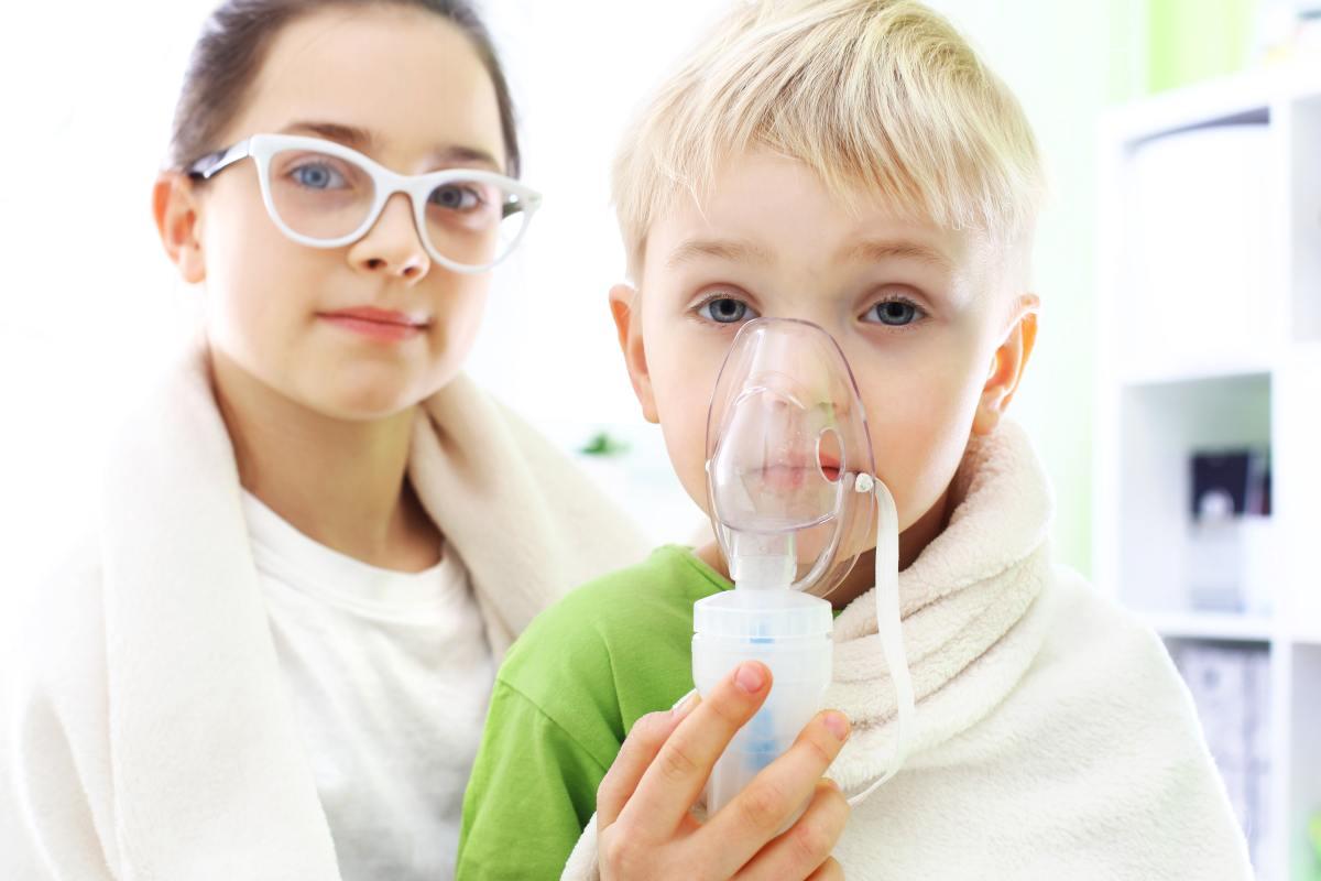 Inhalacje z soli fizjologicznej u dzieci