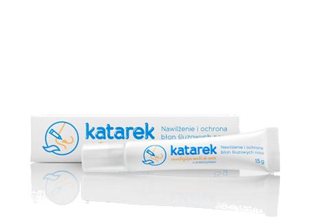 maść katarek - nawilżenie i ochrona błon śluzowych nosa