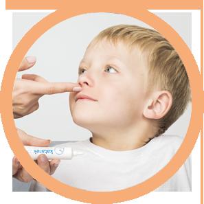 Stosowanie specjalistycznej maści przeznaczonej do nosa