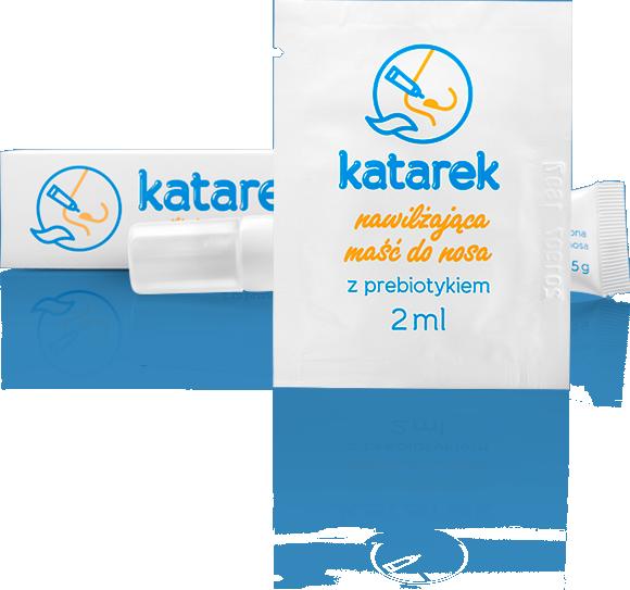 katarek - próbka nawilżającej maści do nosa z prebiotykiem