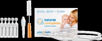 Katarek Complete - aspirator kataru. Wszystkie elementy zestawu