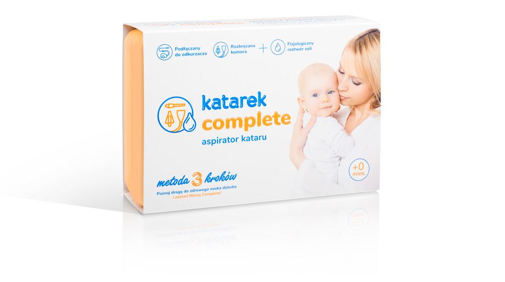 katarek complete - aspirator kataru. Metoda 3 kroków