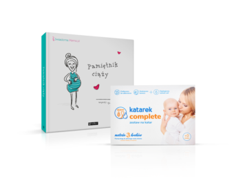 Katarek Complete z Pamiętnikiem Ciąży