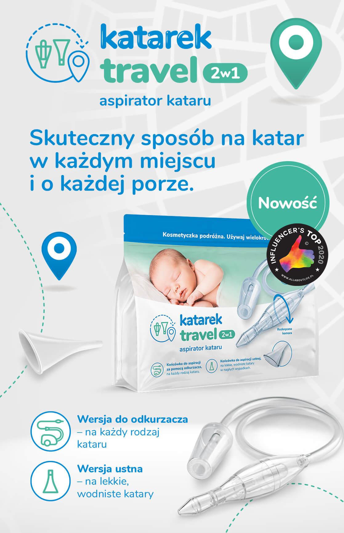 Katarek Travel dla dzieci i niemowląt