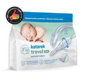 Katarek Travel 2w1 - aspirator box
